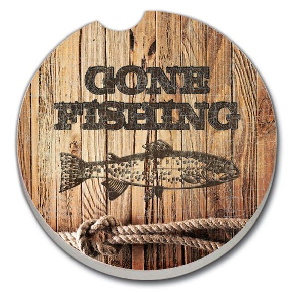 Fishing Car Coaster