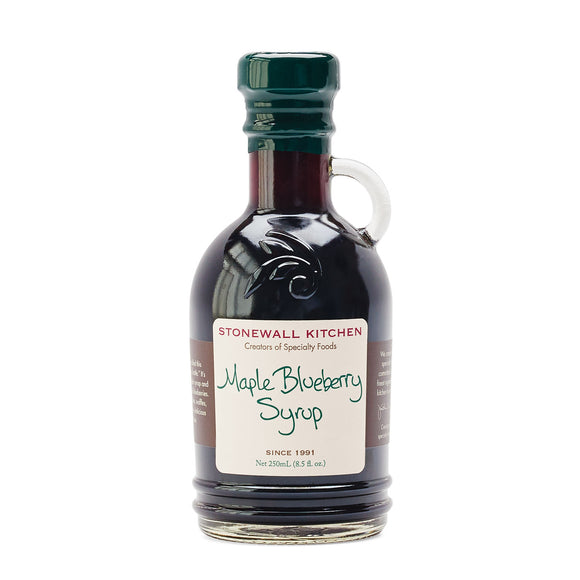 Maple Blueberry Syrup