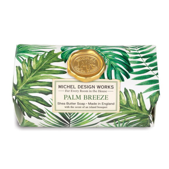 Palm Breeze Large Bath Bar Soap