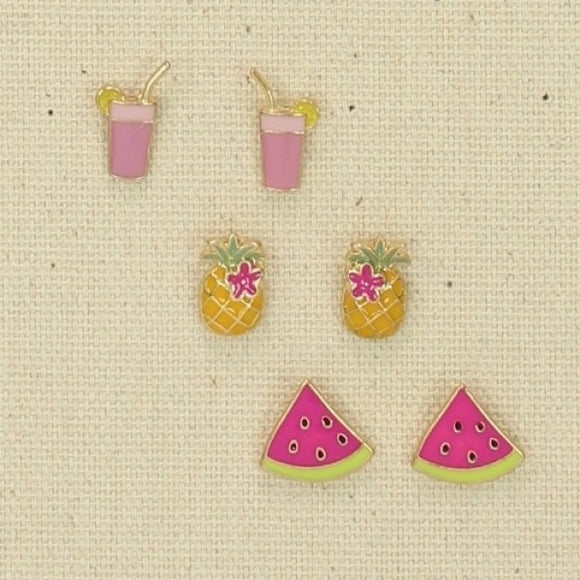 Beach Earring Set