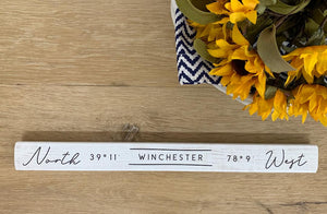 Winchester Coordinates