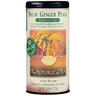 Decaf Ginger Peach