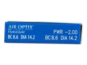 Air Optix plus HydraGlyde (3 lenti)
