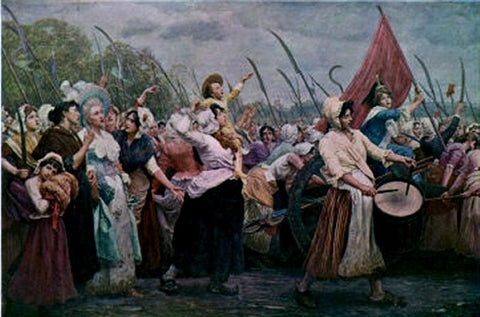 french_revolution } women's-march   The-Women's-March-on-Versailles   october-1789