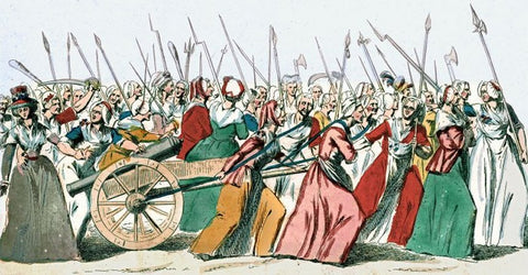 french-revolution   womens-march   womens-march-versailles