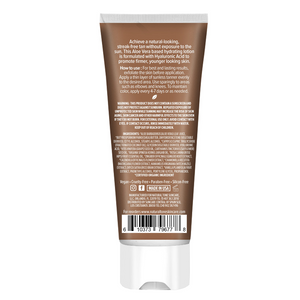 Hydrating Sunless Tanner with Hyaluronic Acid - Natural Tone Organic Skincare