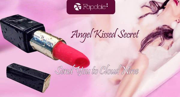 Angel Kissed Your Clitoral With This Lipstick In Your Make-up Bag