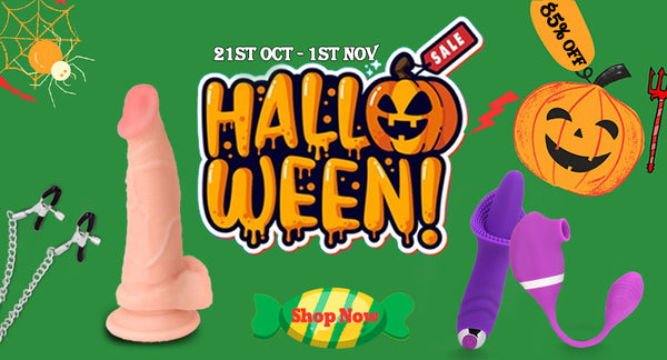 Don't Be Scared @Halloween, Have Some Sexy Fun via Fapdale!