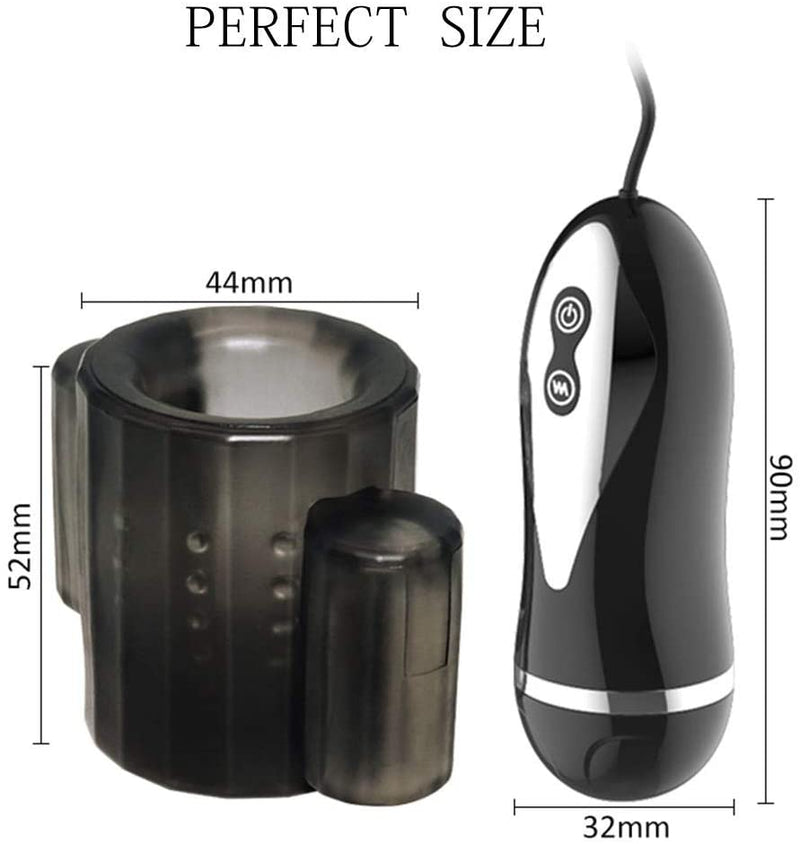 Dual Vibrating Penis Sheath Vibrator