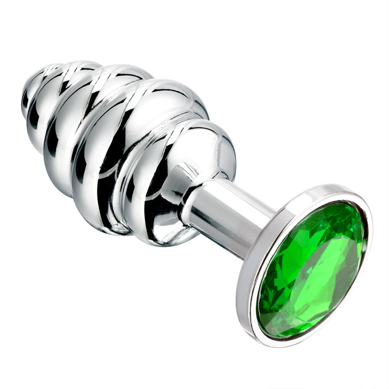 Stainless Steel Jewelled Butt Plug