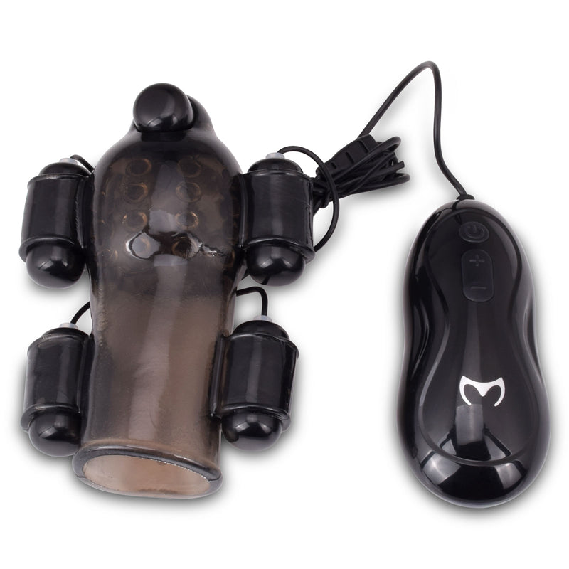 Textured Penis Pump Glans Vibrator