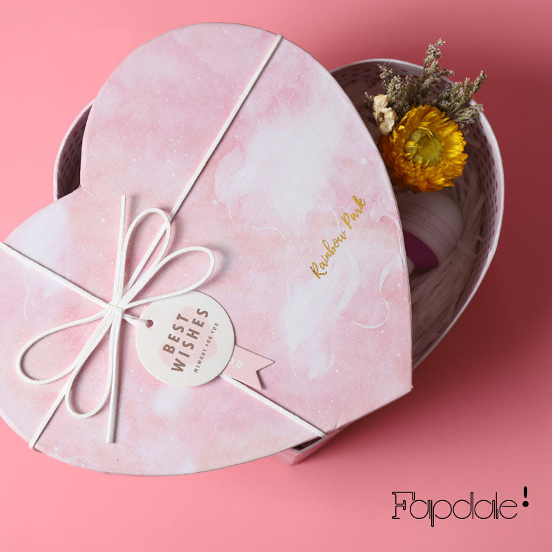 Pink Heart Shaped Gift Box