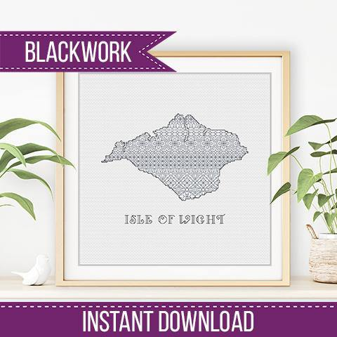 Isle Of Wight Blackwork
