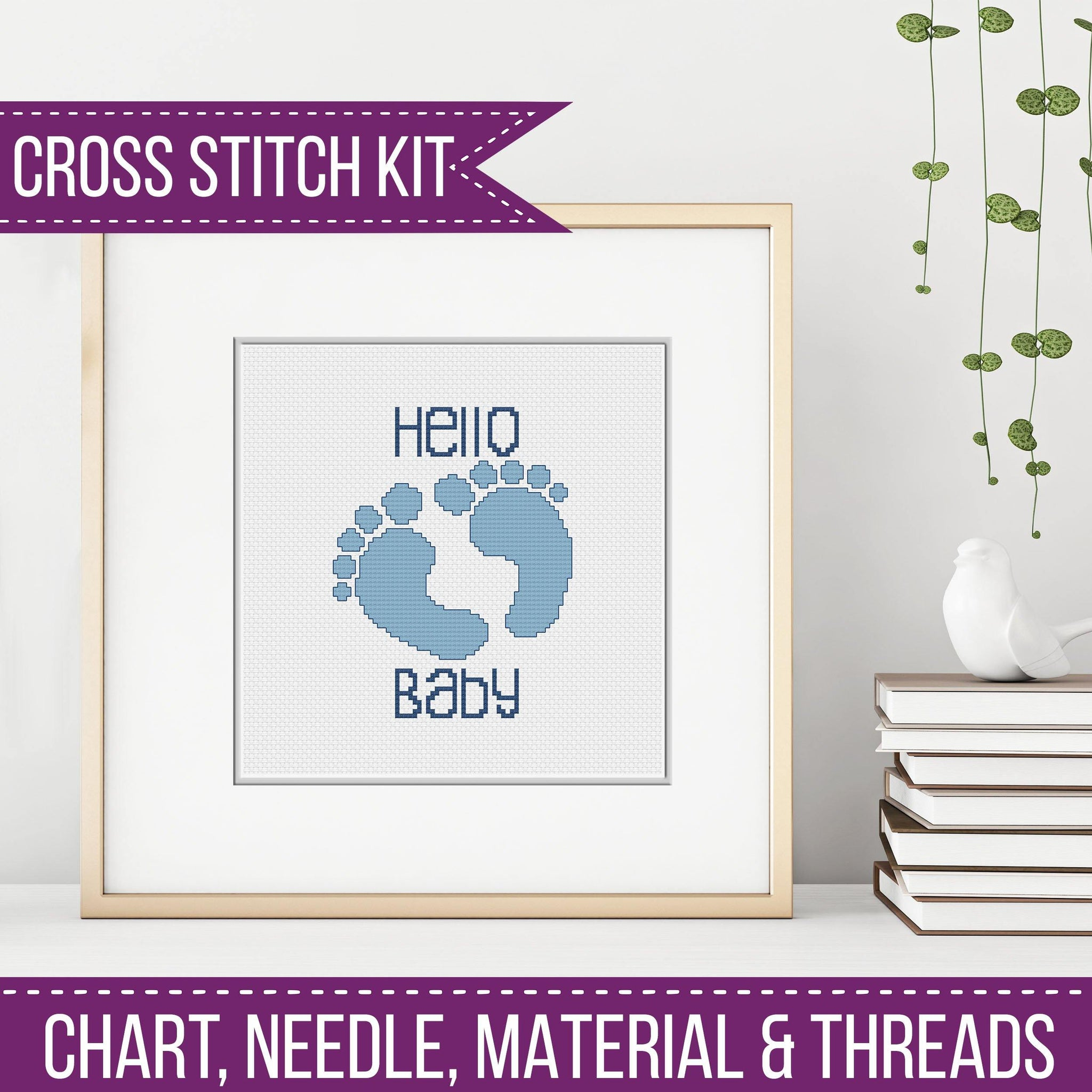 Baby Boy Cross Stitch Kit