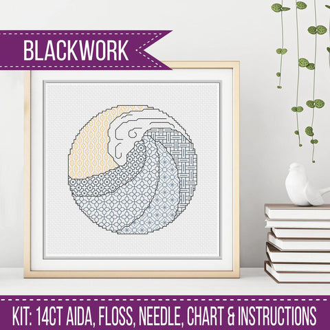 Blackwork Kit by Peppermint Purple