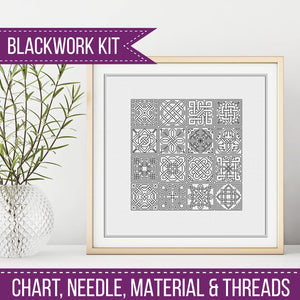 Celtic Knots Blackwork Kit