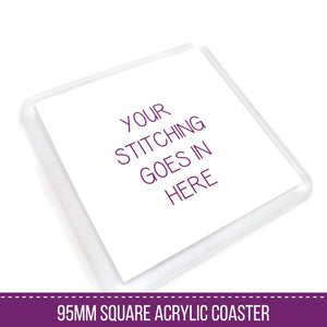 Square Coaster Blank