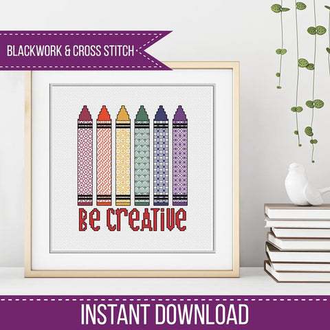 Blackwork Pattern - Be Creative