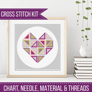 Geometric Heart Kit