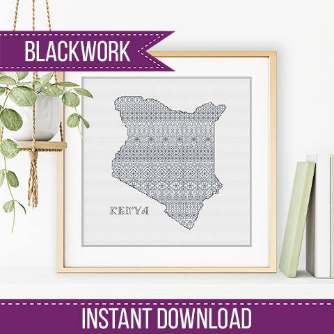 Kenya Blackwork