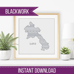 Laos Blackwork