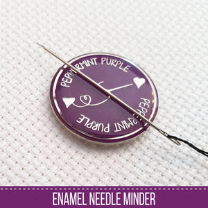 Peppermint Purple Needle Minder