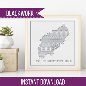Blackwork Pattern - Northamptonshire