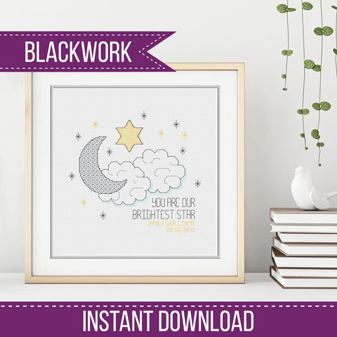 Brightest Star Blackwork