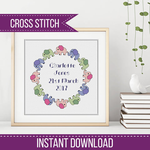 Birth Sampler Pattern