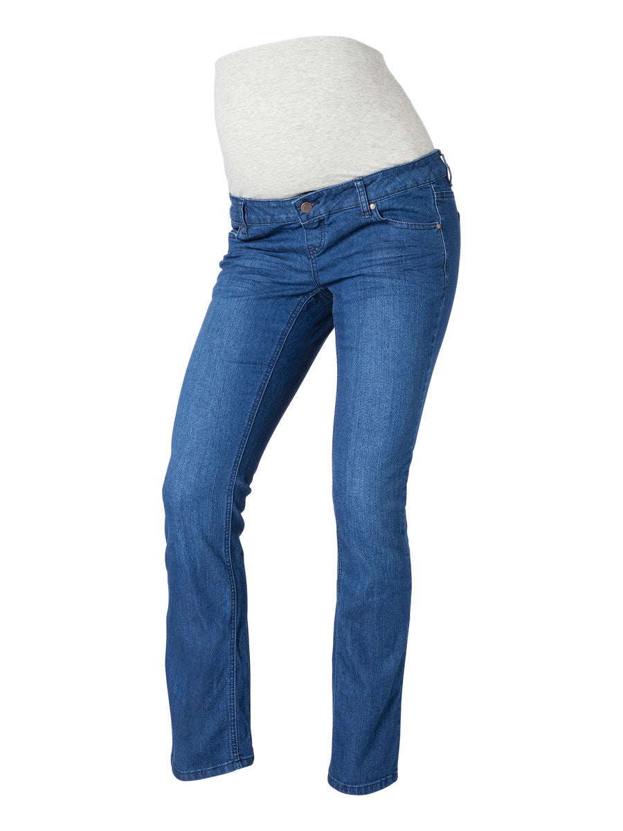 Bootcut Blue Maternity Jeans