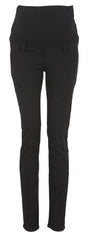 Black Over Bump Skinny Maternity Jeans