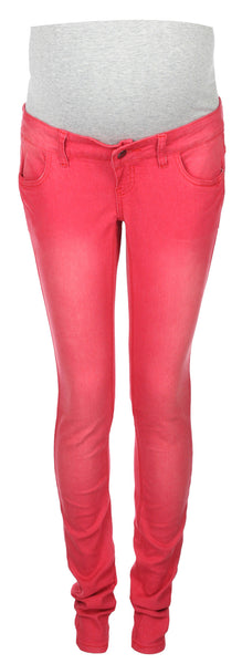 Red Maternity Jeans