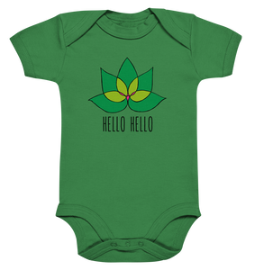 Young Humans Active Wear - Baby Bodysuite (Lotus Green)