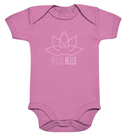Young Humans Active Wear - Baby Bodysuite (Lotus White)