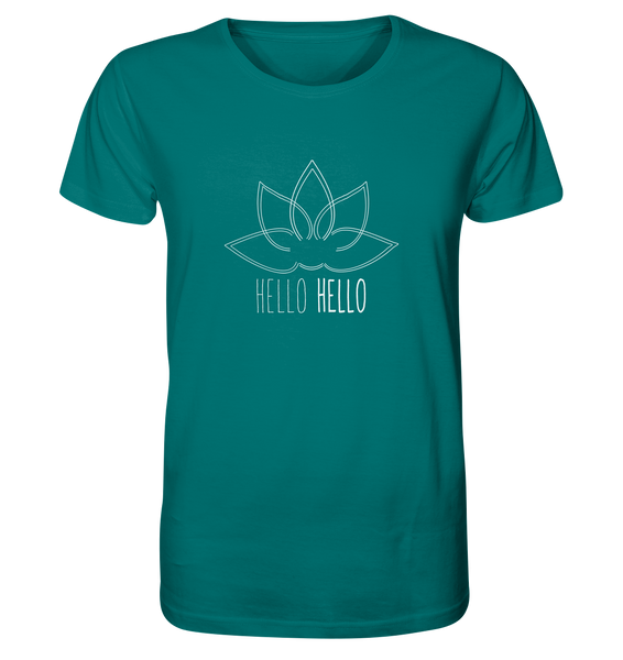 Hello Hello - Organic Shirt (White Lotus) - 8 Colors Available