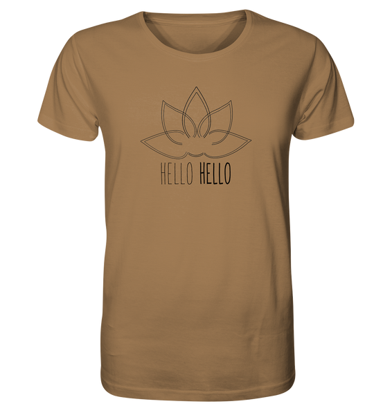 Hello Hello - Organic Shirt (Black Lotus) - 5 Colors Available
