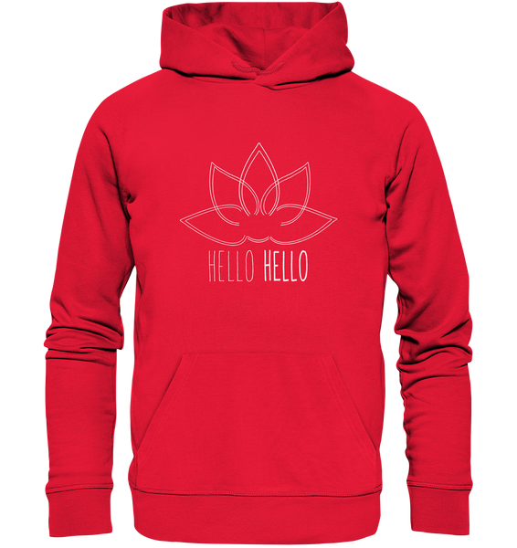 Hello Hello - Hoodie (White Lotus) - 6 Colors Available