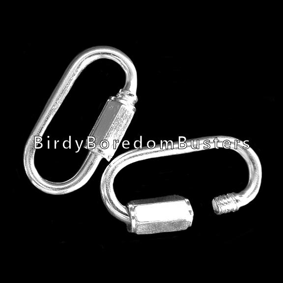 Nickel Plated Quick Links (5)