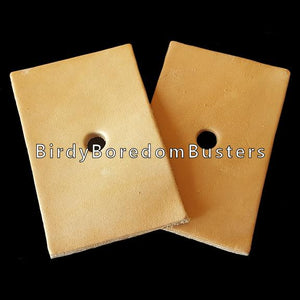 Veggie Tanned Leather Rectangles (3)