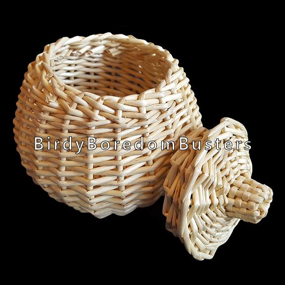 Willow Basket with Lid