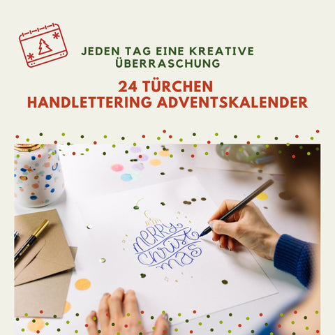 ArtNight Adventskalender: Handlettering