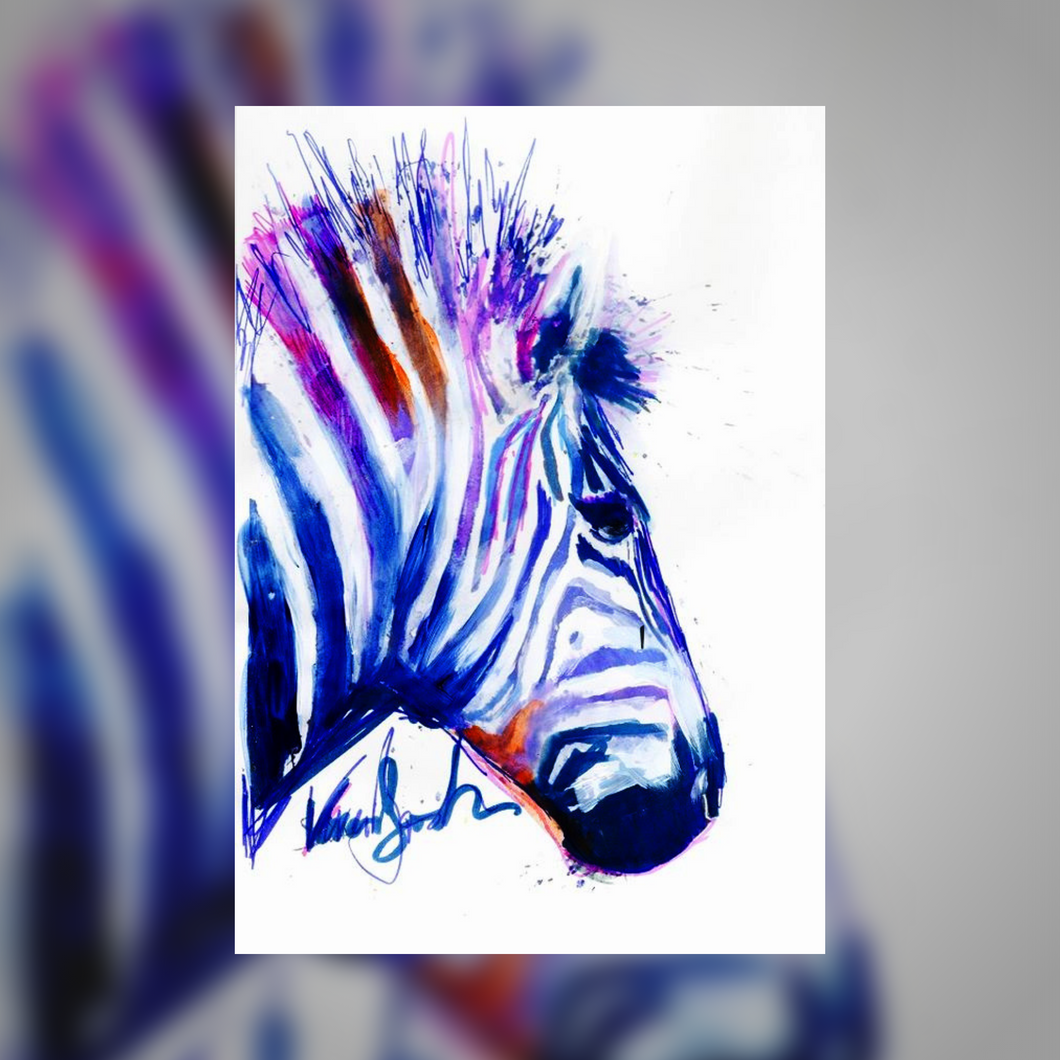 Zebra<br> - Watercolor Kurs -