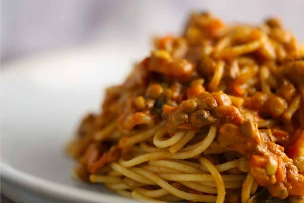 Recipe of the week: Lentil Bolognese by Michelle
