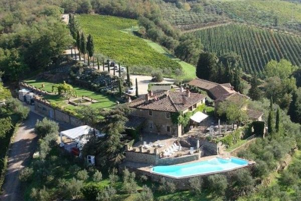 Welcome to Capannelle in Gaiole in Chianti, Siena, Italy
