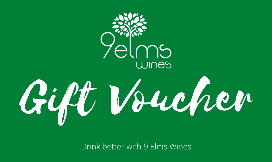 wine gift card from 9 Elms Wines