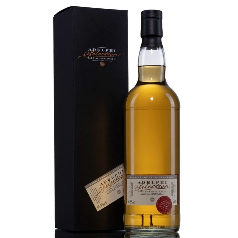 Adelphi Ardmore 2002 18 Year Old Single Malt Whisky