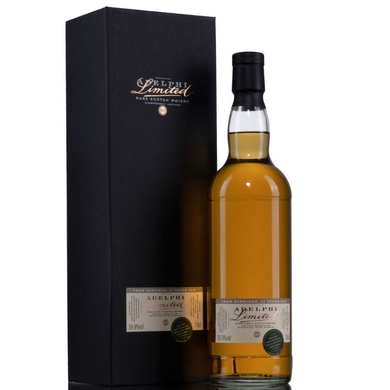 Adelphi Benriach 1999 21 Year Old SIngle Malt Whisky