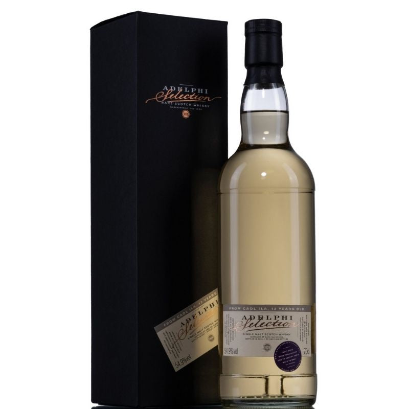 Adelphi Caol Ila 2008 12 Year Old Single Malt Islay Whisky