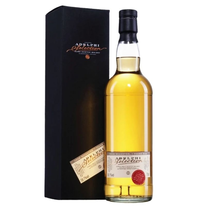 Adelphi Deanston 2013 7 Year Old Single Malt Scotch Whisky