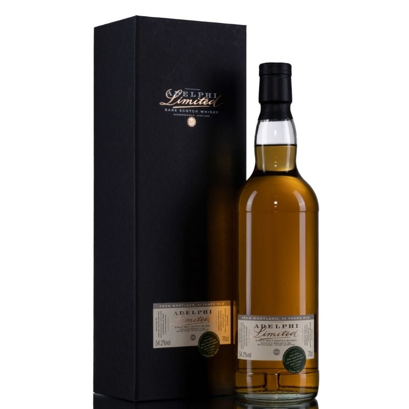 Adelphi Mortlach 1986 34 Year Old Single Malt Whisky